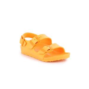 Birkenstock Milano Eva Kids žluté 1015701