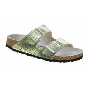 Birkenstock Arizona Gator Gleam Mineral Regular zelené 1016048