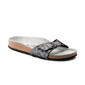 Birkenstock Madrid BS Python Black Narrow Fit černé 1016897
