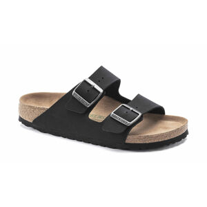 Birkenstock Arizona BFBC Earthy Vegan Black Regular Fit černé 1019115