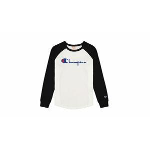 Champion Raglan Sleeve Script Logo Baseball Top Multicolor 112538-KK001