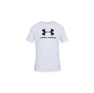 Under Armour Sportstyle Logo Short Sleeve T-Shirt bílé 1329590-100