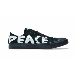 Converse Chuck Taylor All Star Peace Powered Lo Black černé 167893C