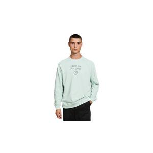 Dedicated Sweatshirt Malmoe Local Planet Mint zelené 18337