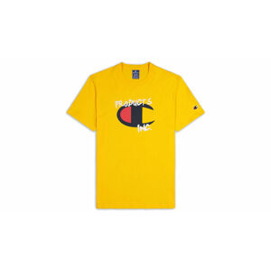 Champion Grafitti Logo T-Shirt černé 214344_S20_YS022