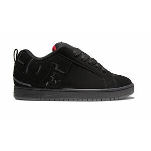 DC Shoes Court Graffik Black Red černé 300529-BLR