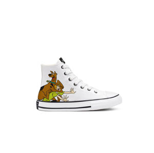 Converse x Scooby-Doo Chuck Taylor All Star High Top Older Kids bílé 669077C