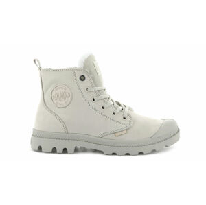Palladium Pampa Hi Zip Wool White Cap Grey šedé 95982-176-M