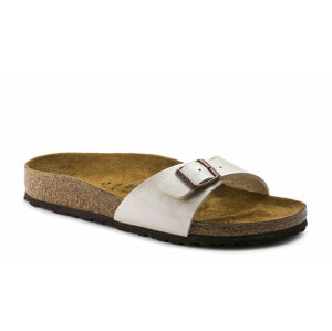 Birkenstock Madrid BF Graceful Pearl White Regular Fit růžové 940151