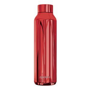 Nerezová lahev Solid Sleek 630 ml, Quokka, červená