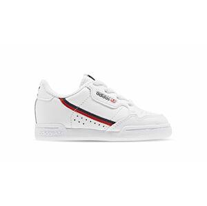 adidas Continental 80 El I Kids bílé G28218