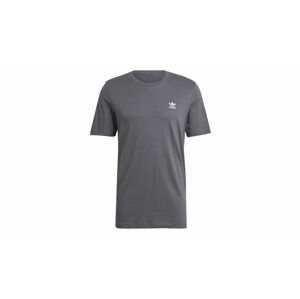 adidas Trefoil Essentials Tee Grey Five šedé GN3413