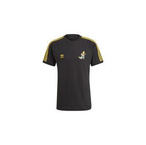 adidas x Simpsons 3S Tee Black černé HA5815