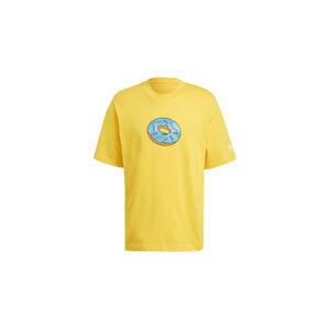 adidas x Simpsons Doh Tee Super Yellow žluté HA5818