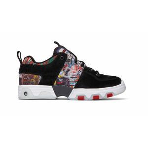DC Shoes Basqiat Hybrid Black Multi černé ADYS100678-BK5