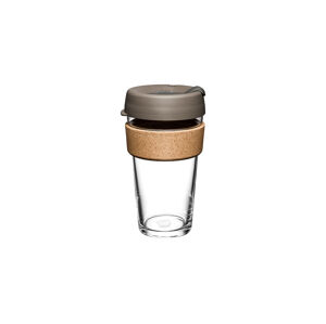 KeepCup Brew Cork Latte 16 oz / 473ml hnědé BCLAT16