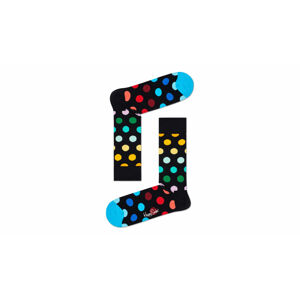 Happy Socks Big Dot Sock černé BDO01-0101