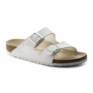 Birkenstock Arizona White Narrow bílé 51733