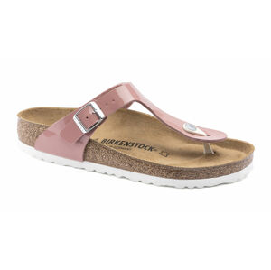 Birkenstock Gizeh Patent Old Rose Regular růžové 1016148
