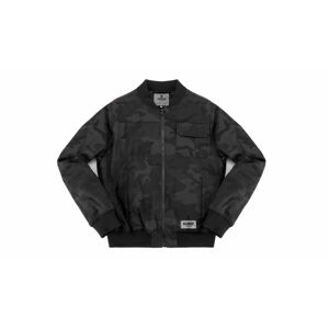 Chrome Industries Utility Bomber Jacket Black Camo černé AP-301-BCAM