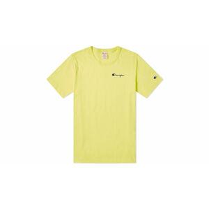 Champion Crewneck T-Shirt žluté 211985-YS062-BTP