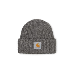 Carhartt WIP Anglistic Beanie Dark Grey Heather šedé I013193_ZM_00