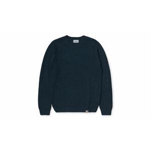 Carhartt WIP Forth Sweater Admiral modré I028263_0E0_00