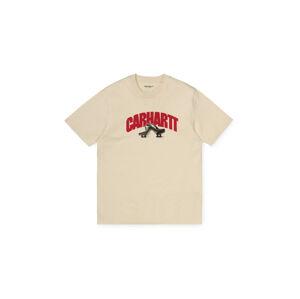 Carhartt WIP S/S Bent T-Shirt Flour světlehnědé I028469_05O_00