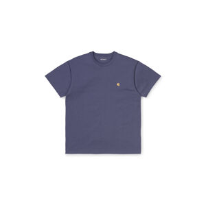 Carhartt WIP S/S Chase T-Shirt Cold Viola / Gold fialové I026391_0F1_90