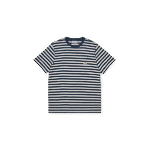 Carhartt WIP S/S Parker Pocket T-Shir Admiral / Cinder modré I028406_0E0_90