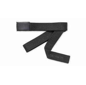 Carhartt WIP Script Belt Tonal Blacksmith černé I028401_E1_00