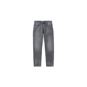 Carhartt WIP Klondike Pant Black Worn Bleached šedé I024945_89_WJ