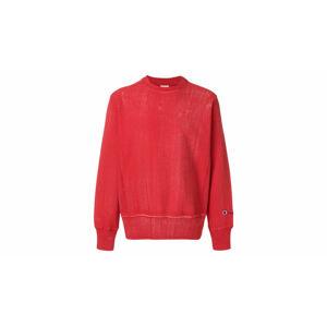 Champion Reverse Weave Crewneck Sweatshirt červené 211680-RS033