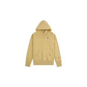 Champion Reverse Weave Hooded Sweatshirt světlehnědé 215214_F20_MS057