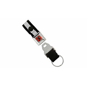 Chrome Industries Mini Buckle Key Chain No color šedé AC-103-NANA