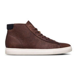 Clae Bradley Mid Cocoa Leather hnědé CL20CBM04-CCL
