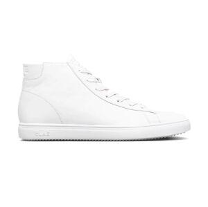 Clae Bradley Mid Tripple White Leather bílé CL21ABM02-WWL