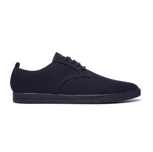 Clae ELLINGTON TEXTILE BLACK WAXED CANVAS černé CLA01275-BCB