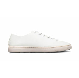 Clae One Piece White Veg Retan Leather bílé CL20AOP01-WRL