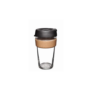 KeepCup Brew - Cork Edition Changemakers Espresso 16oz hnědé BESP16