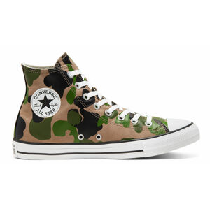 Converse Archival Camo Chuck Taylor All Star High Top Shoe zelené 166714C