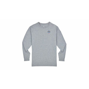 Converse W Mountain Club Long Sleeve T šedé 10009022-A03