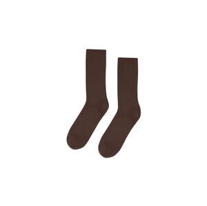 Colorful Standard  Classic Organic Socks hnědé CS6001-CB