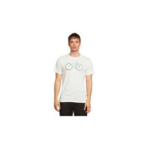 Dedicated T-shirt Stockholm Cyclopath Off-White bílé 18283