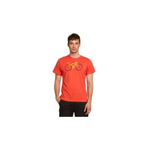 Dedicated T-shirt Stockholm Cyclopath Pale Red červené 18284