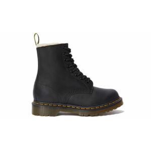 Dr. Martens 1460 Serena Faux Fur Lined Ankle Boots černé DM21797001