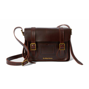 "Dr. Martens 11"" Leather Satchel hnědé DMAB097230"