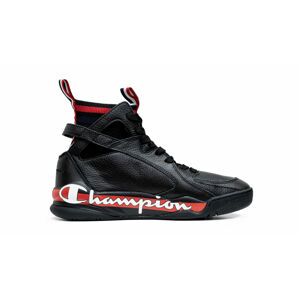 Champion Zone 93 High Leather Men černé S20989-F19-KK001