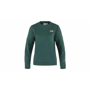 Fjällräven Vardag Sweater W Arctic Green zelené F83519-667