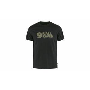 Fjällräven Logo T-Shirt M černé F87310-550